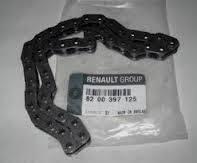 Цепь привода маслонасоса Рено Кенго 1.5dCi (K9K) Renault (Оригинал) 8200397125