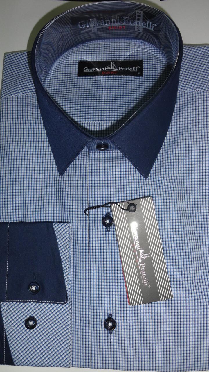 Рубашка мужская ботал Giovanni Fratelli приталенная