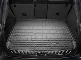Килим гумовий WeatherTech Porsche Cayenne 2011-2015 у багажник (стандартне аудіо Bose) чорний