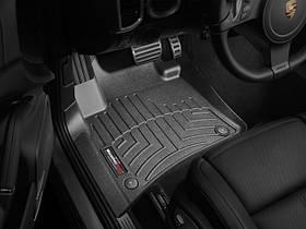 Килими гумові WeatherTech Porsche Cayenne 2011-2015 передні чорні