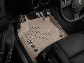 Килими гумові WeatherTech Porsche Cayenne 2011-2015 передні бежеві
