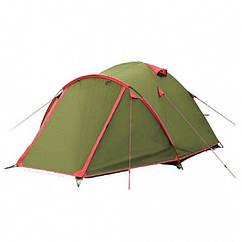 Намет Tramp Lite Camp 4 м, TLT-008. Палатка туристична 4 місна. Намет туристичний