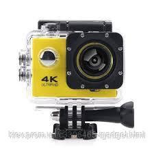Екшн Камера F60A + пульт + 24 крепления ( Желтый, серый , черный , синий )