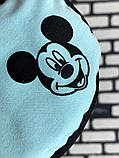 Маска на лицо  с принтом Микки женская 3 цвета, фото 3