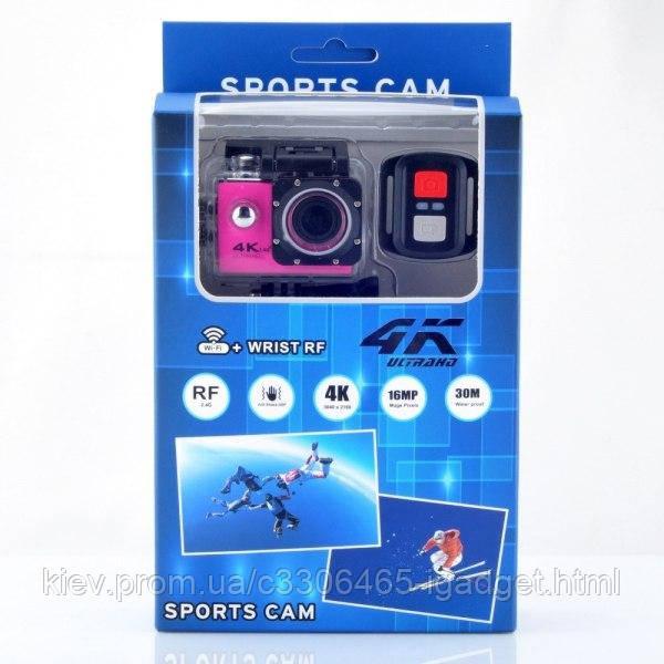 Екшн Камера V3R оригинал + пульт + 24 крепления ( Желтый, синий , черный , серый )