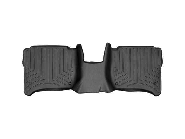Ковры резиновые WeatherTech Porsche Cayenne 2015-2019  задние (4-х зонный климат) черные