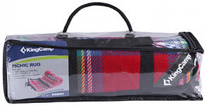 Килимок для пікніка KingCamp Picnik Blanket (KG8001)(red), фото 2