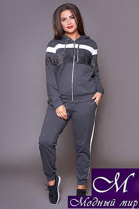 Трикотажный женский костюм спортивный батал (р. 48-50, 50-52, 52-54) арт. 31-479, фото 2