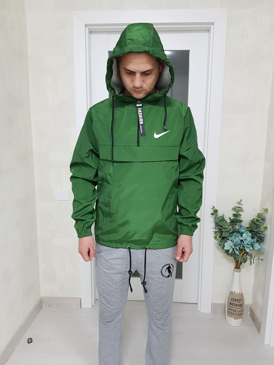 Мужской анорак Nike с капюшоном