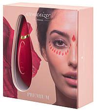 Вакуумный клиторальный стимулятор Womanizer Premium Red, фото 2