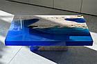 "Епоксидна смола КЕ ""Slab-521 Aqua"" - бірюза, 1,25 кг, фото 4"