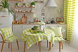 """Подушка на стул """"Кантри"""" зеленая, 40х40 см, фото 5"""