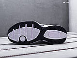 Мужские весенние кожанные кроссовки Nike Air Monarch IV белые, фото 2