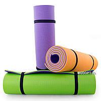 Коврик (каремат) для йоги, фитнеса и спорта OSPORT Спорт 8мм (FI-0083)