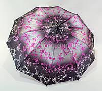 "Женский зонт полуавтомат сатин на 10 спиц от фирмы ""Bellissimo"", фото 1"