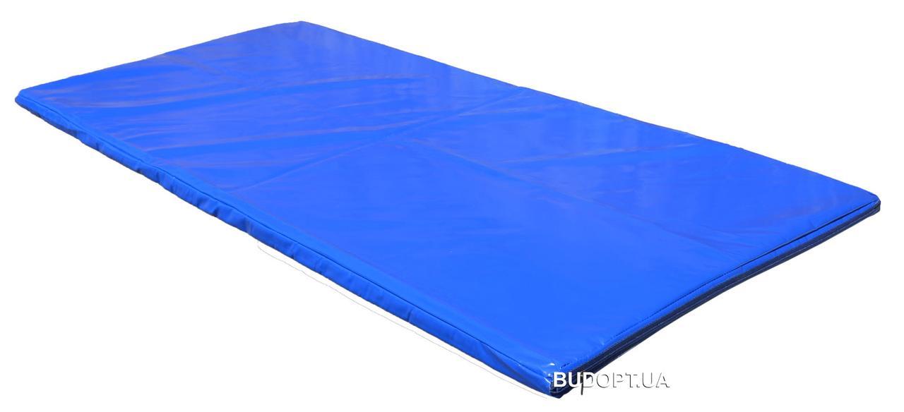 Чехол на мат спортивный, гимнастический, борцовский из ПВХ ткани OSPORT 1м х 2м толщина 4-10см (FI-0096)
