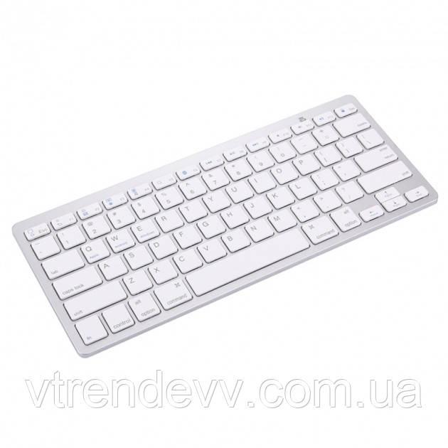 Клавиатура беспроводная Combo BK-3001 Wireless Bluetooth Silver