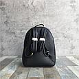 Рюкзак с шипами по контуру / эко-кожа (0573) Желтый, фото 7