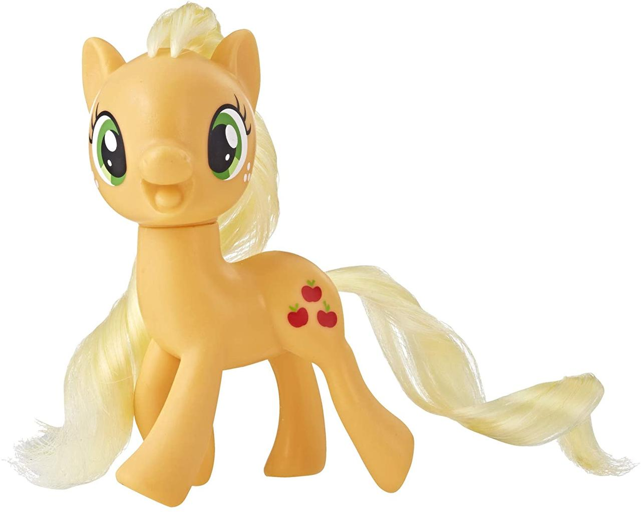 Пони фигурка Эпплджек Май Литл Пони классическая My Little Pony Mane Pony Applejack Hasbro