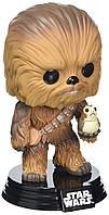 Фигурка Funko POP! Star Wars ep.8: The Last Jedi: Chewbacca with  Porg