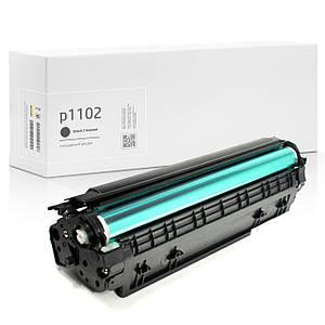 Картридж совместимый HP LaserJet Pro P1102 (P1102w), 1.600 копий, аналог от Gravitone (GTH-LJ-P1102-BK)