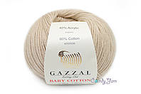 Gazzal Baby Cotton, Бежевый №3446