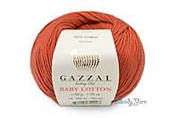 Gazzal Baby Cotton, Терракот №3453