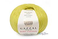 Gazzal Baby Cotton, Оливка №3457