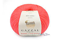 Gazzal Baby Cotton, Пион №3458