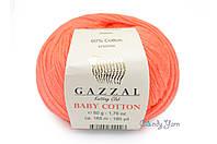 Gazzal Baby Cotton, Апельсин №3459