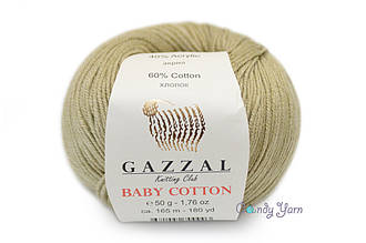 Gazzal Baby Cotton, Беж №3464