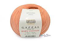 Gazzal Baby Cotton, Персик №3465