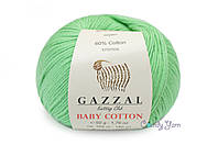 Gazzal Baby Cotton, Салатовый №3466