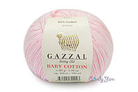 Gazzal Baby Cotton, Розовый №3411