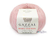Gazzal Baby Cotton, Пудра №3444