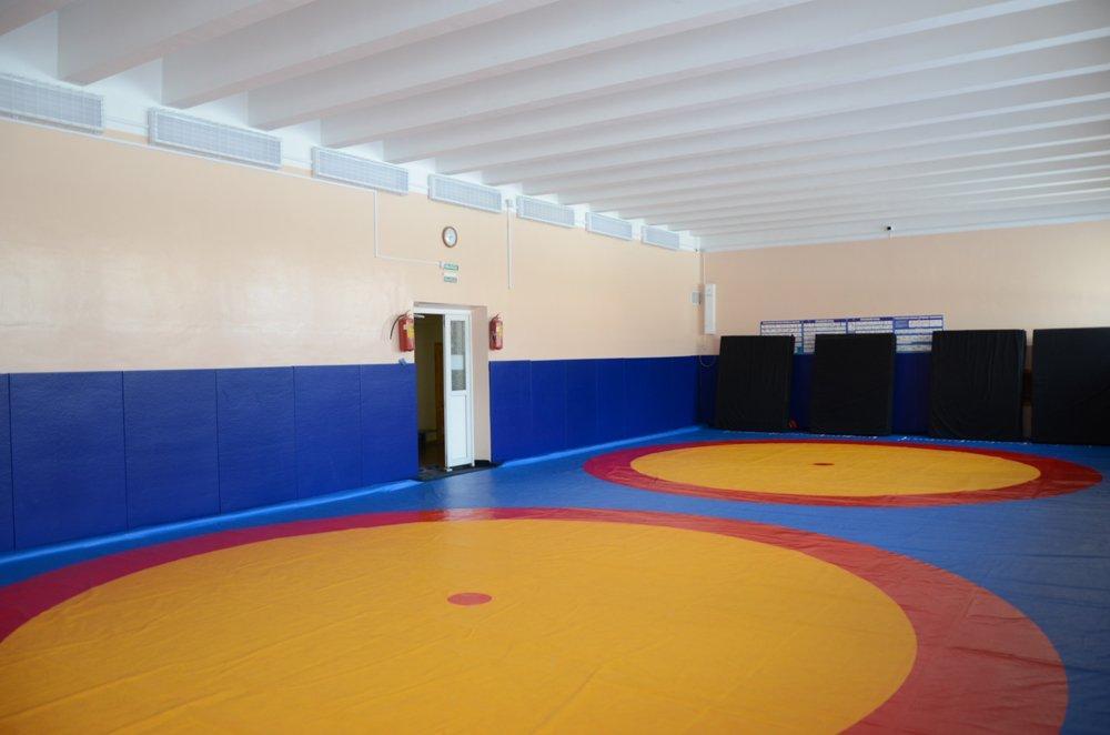 Борцовский ковёр для борьбы, дзюдо 12x12м, толщина 40мм OSPORT