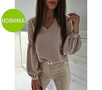 """Блуза с объемным рукавом """"Adel"""", фото 1"""