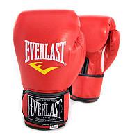 Перчатки боксерские Кожа PU Everlast BO-3987 (8-12 унций)