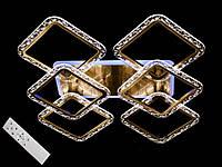 Бронзовая светодиодная люстра с пультом 120W, фото 1