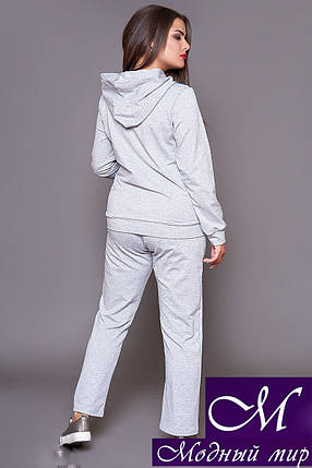 Стильный спортивный костюм женский батал (р. 46-48, 50-52, 54-56, 58-60) арт. 31-499, фото 2