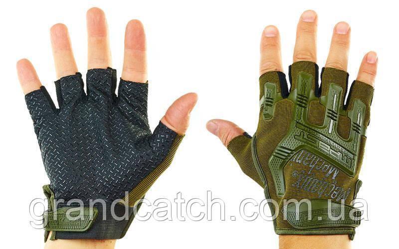 Перчатки Mechanix открытые Олива