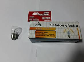 Лампа 12V 21W 1 контакт пр-во Balaton