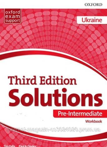 Solutions 3rd Edition Pre-Intermediate WB (UA) ISBN: 9780194510646, фото 2