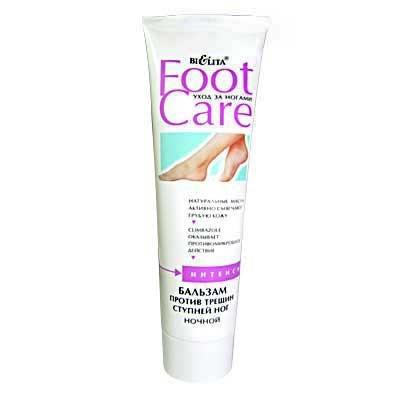 Беліта Foot Care Бальзам проти тріщин ступень нічний 100мл