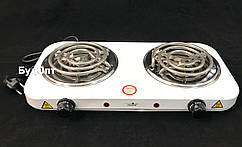 Плита электрическая настольная двухконфорочная 2000w Stenson (ME-0013S)