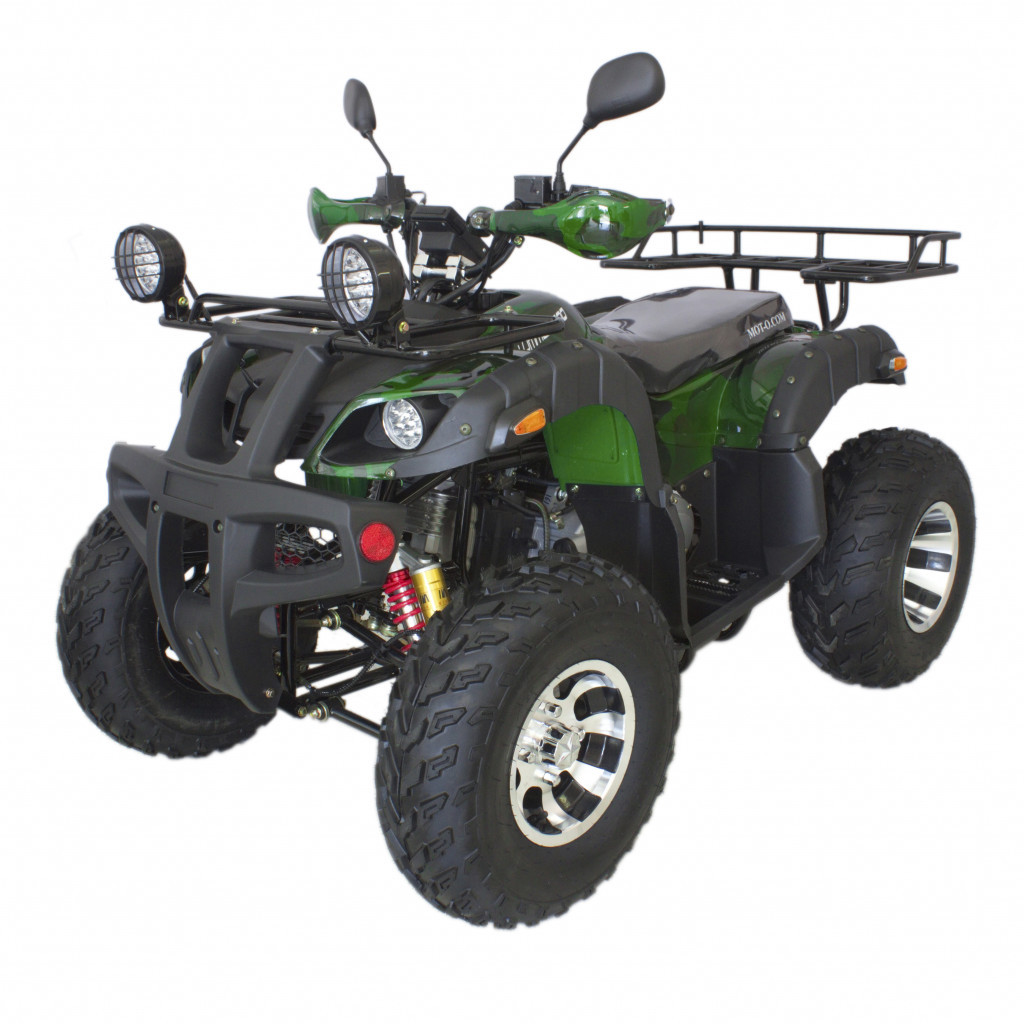 Квадроцикл Hummer 200 LUX (цепной привод) Хаки камуфляж
