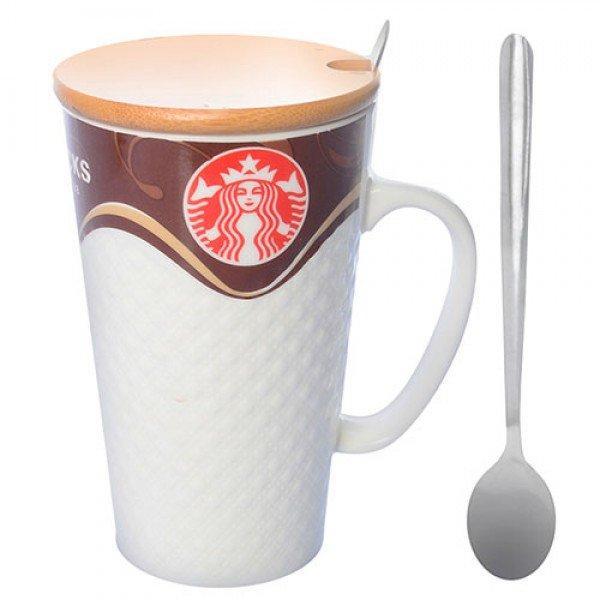 чашка с крышкой для чая