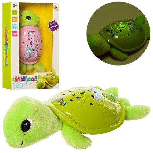 Ночник детский черепаха с проекцией ночного неба 19см Profi (JLD-22AB)
