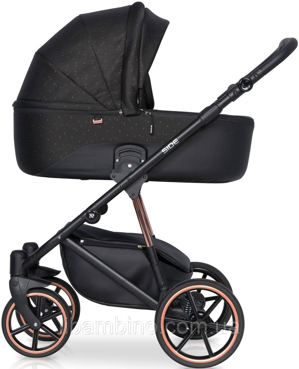 Дитяча універсальна коляска 2 в 1 Riko Side 06 Cooper
