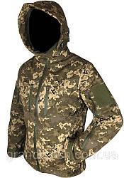Штормова Куртка Soft shell Світлий піксель 64-66(р)